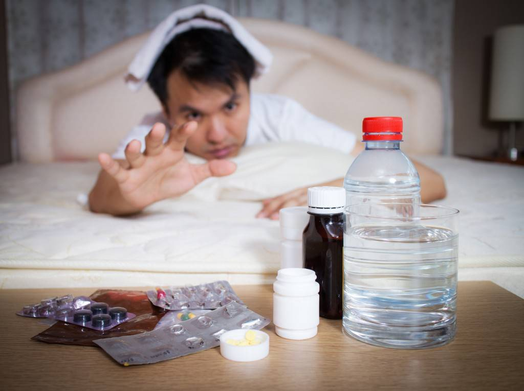 Похмельный синдром после пьянки